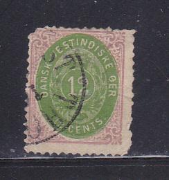Danish West Indies 11 U Numeral SCV $175.00
