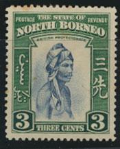 North Borneo  SG 305 SC# 195 MLH     - See scans and details