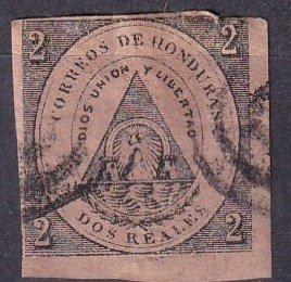 Honduras #2 Used CV $250.00 (Z3207)