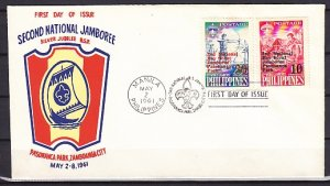 Philippines, 832-833. 2nd National Jamboree issue. First day cover. ^