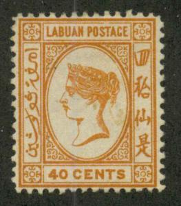 Labuan 39 Mint F-VF HR
