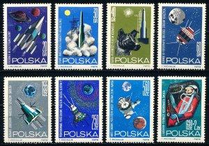 Poland #1291-1297, B108 Set of 8 MNH