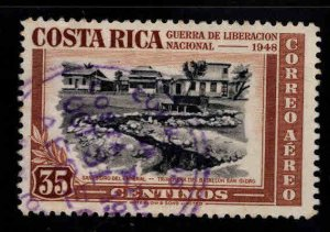 Costa Rica Scott C192 Used Airmail stamp