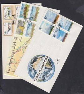 South Africa Ciskei stamp 3 FDC Cover 1990-1992 Mi 175-178, 207-214 WS142331