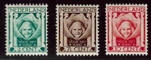 Netherlands SC B6-B8 Mint  F-VF....Worth a close look!!