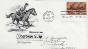 United States, First Day Cover, Horses