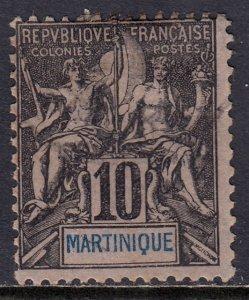 Martinique - Scott #38 - Used - SCV $2.00