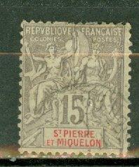 M: St Pierre & Miquelon 68 used CV $65