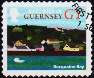 Guernsey. Date? GY. Fine Used