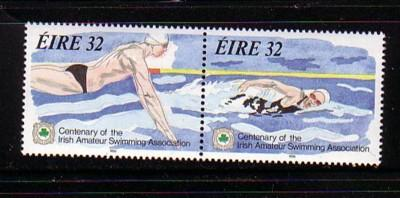 Ireland Sc 899-00 1993 Amateur Swimmers stamps  mint