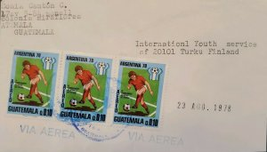 A) 1978, GUATEMALA, SOCCER, WORLD CHAMPIONSHIP ARGENTINA, FROM MIRAFLORES TO FIN