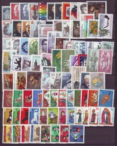 J20774 Jlstamps germany berlin sets & singles mnh lot very good value#