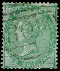 SG73, 1s pale green, FINE USED. Cat £350.