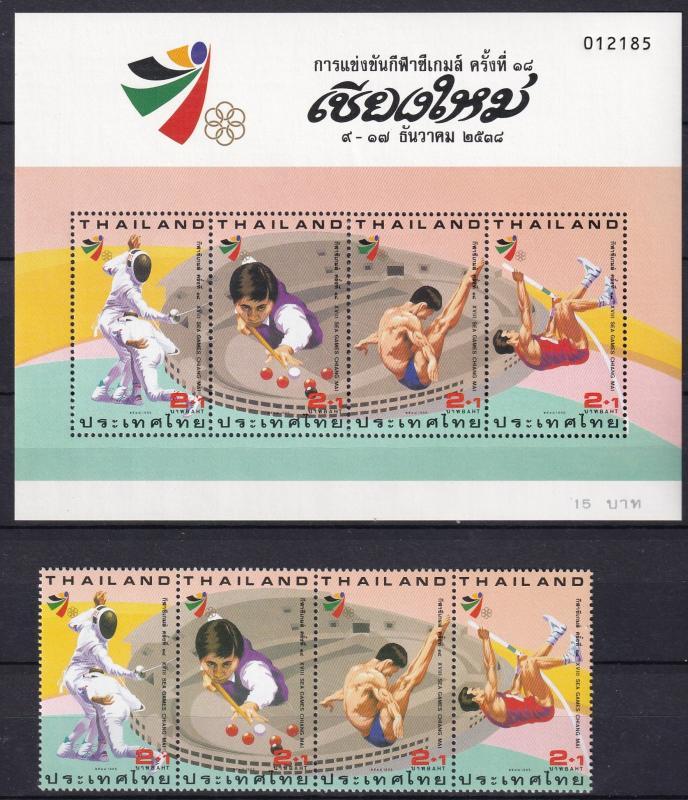 Thailand #B79, B79a   MNH CV $4.25  Z813L