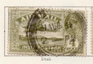 India 1926-29 Early Issue Fine Used 4a. 269126