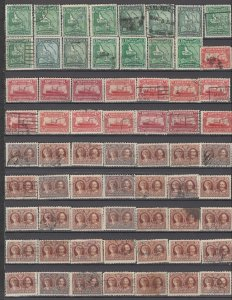 COLLECTION LOT OF # 892 NEWFOUNDLAND 65 STAMPS 1928+ CLEARANCE UNCHECKED CV+$35