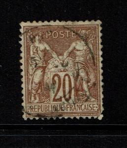 France SC# 70, Used - Lot 101017