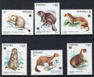 Poland 2650-2655 MNH VF