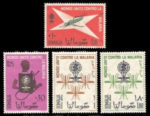 Somalia 1962 Scott #263-264, C85-C86 Mint Never Hinged