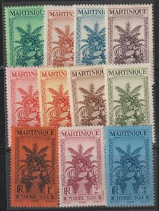 Martinique J26-36 Mint Lightly Hinged