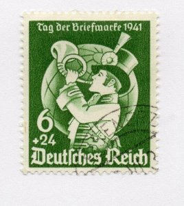 Germany 1943 Early Issue Fine Used 6pf. NW-100721