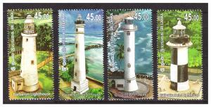 SRI LANKA 2018 Lighthouses 4v set MNH