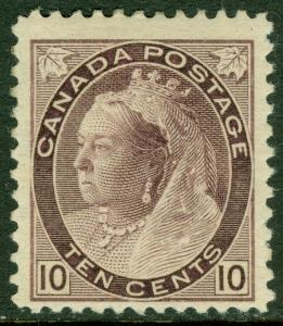 EDW1949SELL : CANADA Scott #83 Mint OG. Very Fresh stamp w/ nice color. Cat $400