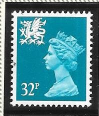 Great Britain-Wales & Monmouthshire # WMMH54 (MNH) $1.60
