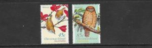 BIRDS - CHRISTMAS ISLAND #399-400