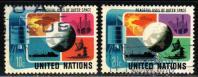 United Nations # 256-57 ~ Cplt Set 2  ~ Used ~ cv .50