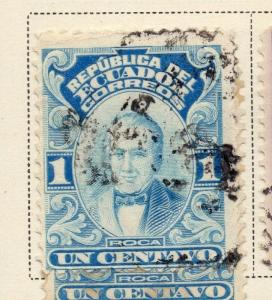Ecuador 1925 Early Issue Fine Used 10c. 170242