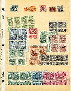 Greece Mint & Used Early 1900s Nice Vintage Stamp Collection
