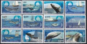 Aitutaki #600-11 MNH CV $62.50 (A19983)