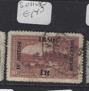 IRAQ MESOPOTAMIA  (PP0609B)  1R    SG 11   VFU