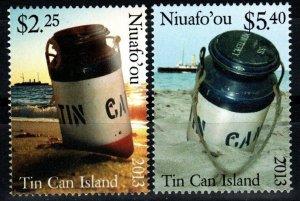 Tonga Niuafo'ou #294-5  MNH CV $7.00 (X1430)