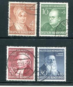 Germany #B 327-30 Used VF