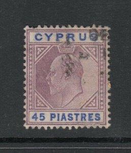Cyprus, Sc 59 (SG 71), used