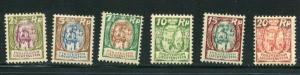 Liechtenstein #74-9 Mint