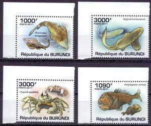 Burundi. 2011. Fish fauna. MNH.