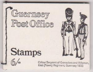 Guernsey - 1969 6/- Booklet VF SG #SB3
