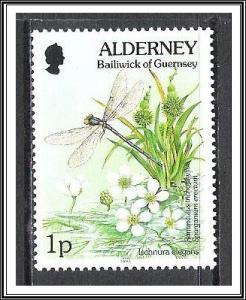 Alderney #70 Flora & Fauna MNH