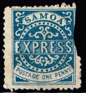 WESTERN SAMOA STAMP 1P Express Stamp UNUSED NG STAMP