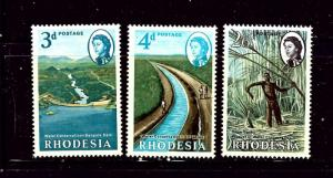Rhodesia 203-05 MNH 1965 Water Conservation