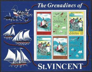 St. Vincent #329a MNH Souvenir Sheet cv $11