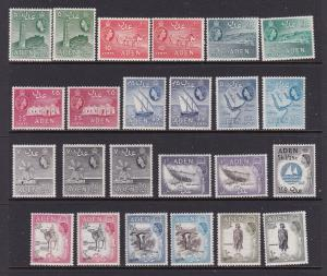 Aden the QE2 set to 10/- includes the shades MH