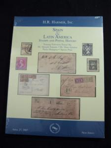 H R HAMER AUCTION CATALOGUE 2007 SPAIN & LATIN AMERICA FERNANDEZ & GELABERT