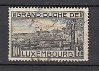 J25800  jlstamps 1923 luxembourg used #152a view perf 12 1/2