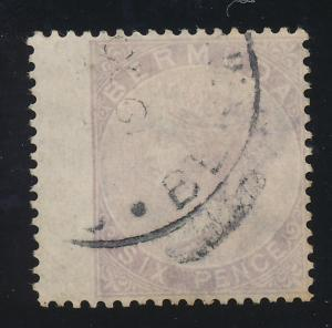 Bermuda Stamp Scott #8, Used - Free U.S. Shipping, Free Worldwide Shipping Ov...