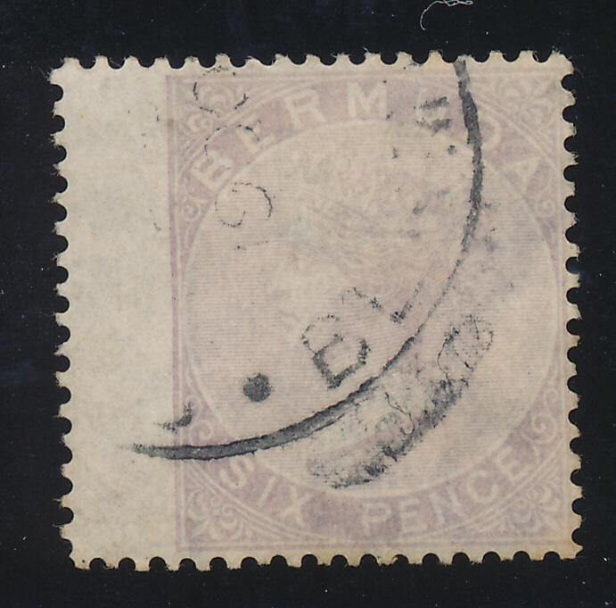 Bermuda Stamp Scott #8, Used