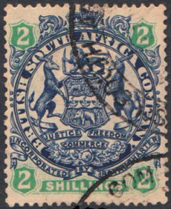 Rhodesia Scott 34 Used.